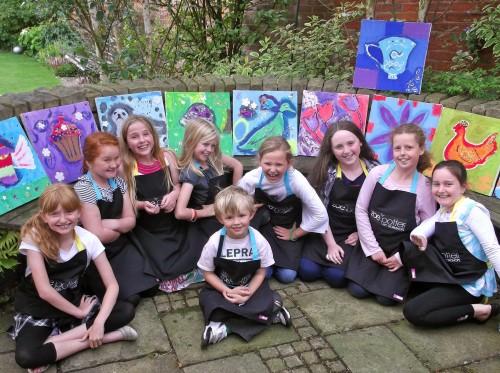 'Creative Canvas Party!'