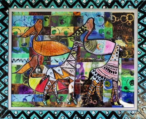 'Animal Magic Collages'