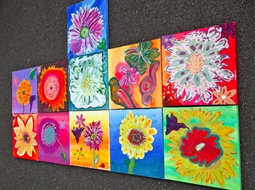 'vibrant summer florals - summer holiday workshop!'