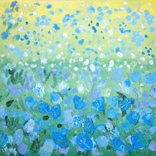 'Sea of bluebells!'