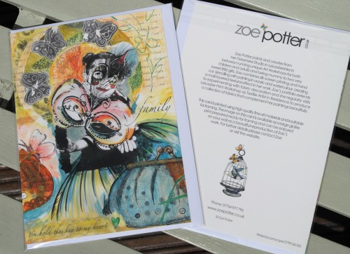 'I am thrilled that my cards are now available at Folly Home!'