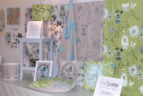 ' The birdcage and the key fabric collection'