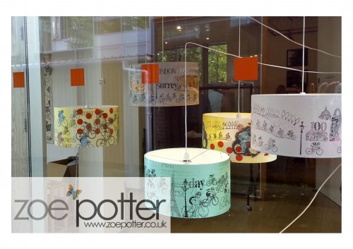 Lampshades on exhibition   at 'The Depot Leicester'