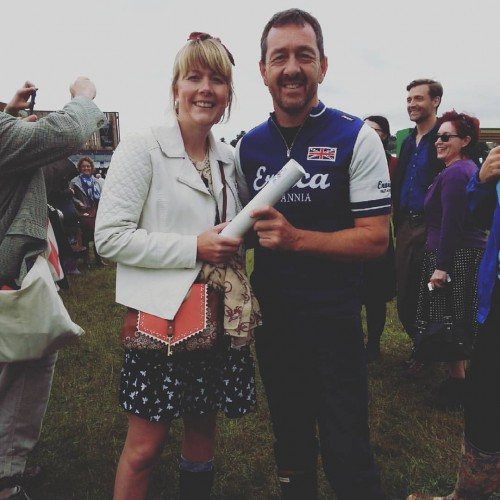Me and 'The Chris Boardman MBE'